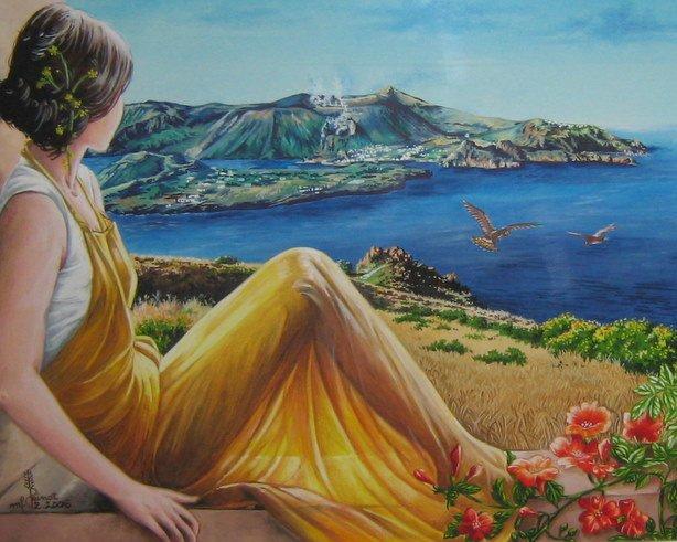 Popolare Dipinti Paesaggi Primaverili YI68 » Regardsdefemmes OE03